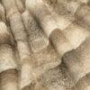 Palomino Pyrenean Rabbit Fur Throw