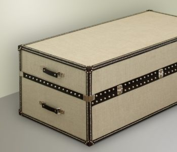 Savannah 1819 Steamer Trunk Blanket Chest