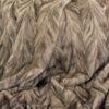 Mink fur blanket