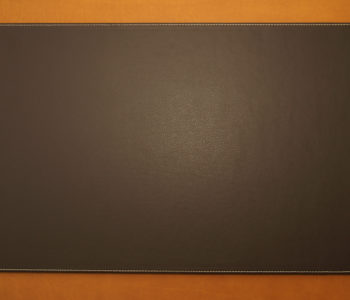 Rectangular Leather Desk Blotter