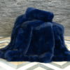 Dyed Fox Fur Blanket