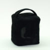 Black Suede Door Stops