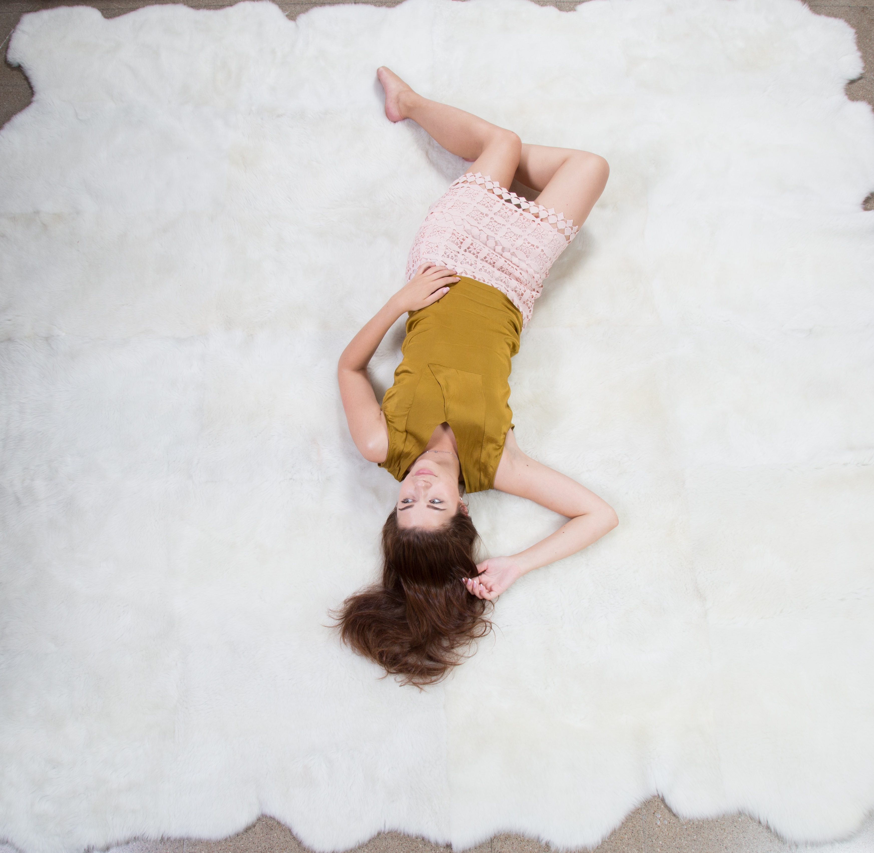 Desire Merino Sheepskin Deeply Soft Area Rug