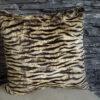 Rabbit fur cushion