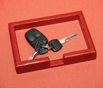 Leather Key Tray