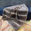 Imperial Chinchilla Rex Fur Blanket